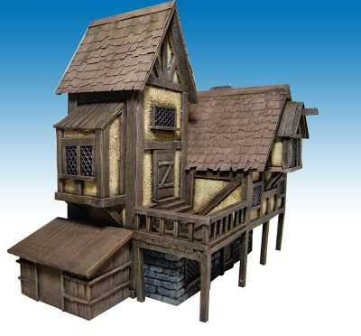 how to build a medieval house in real life