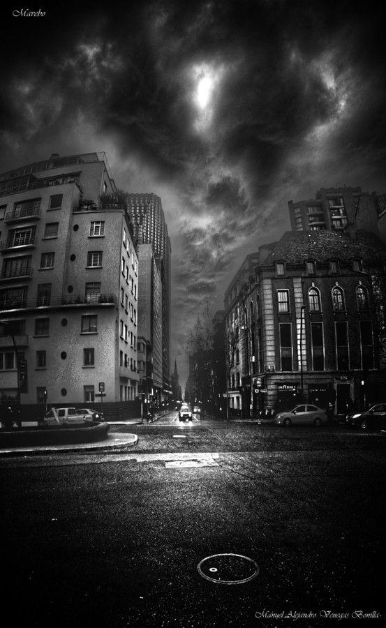 Photo Santiago de Chile. by Alejandro Bonilla on 500px