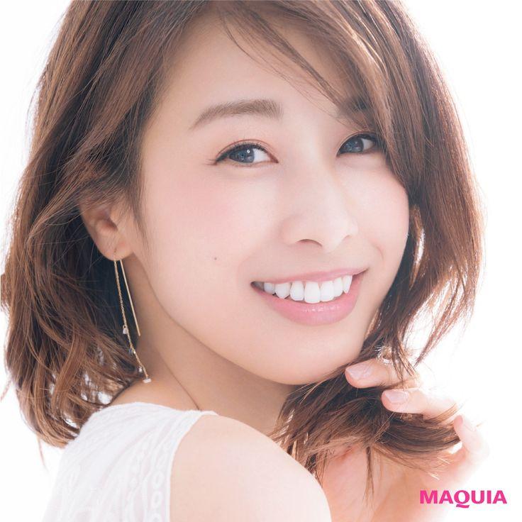"""美人で、感じが良くて、アナウンサーとしての力量も抜群。フリーアナウンサーとなりますます輝きを増す加藤綾子さんが「MAQUIA」9月号に登場!""""好感度の秘密""""を解き明かします。AYAKO KATO1985年4月23日埼玉県出身。フリーアナウンサー。"""