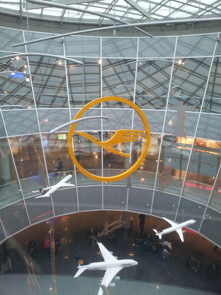 Frankfurt Airport (FRA)..I've been here before!! SO COOL