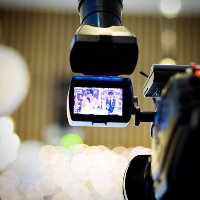 Apart from beautiful lighting, we also offer a full range of video services to capture the big day