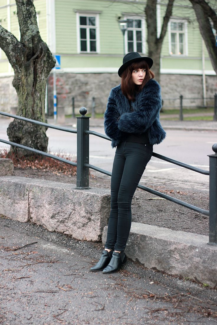 WST Faux Fur Coat on Fashion Worries
