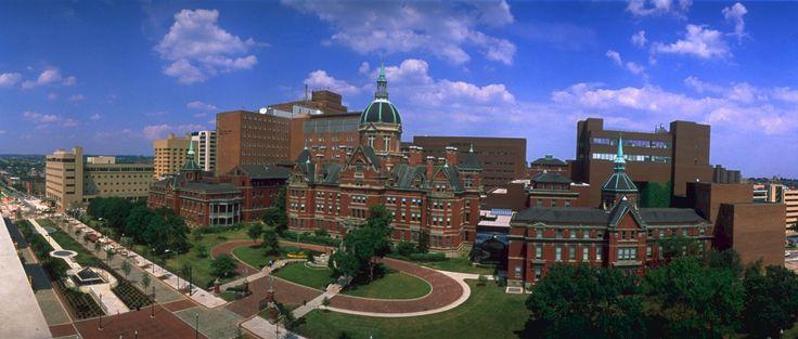 Johns Hopkins Hospital - Ron Solomon/Rex Features