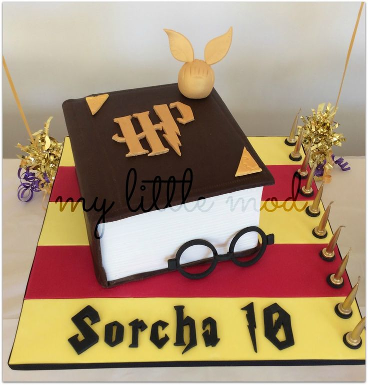 Cool and quirky handcrafts and edible treats for little people #harrypottercake