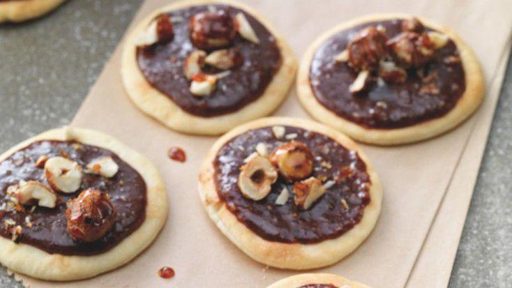 Pizzettes. Шоколадная пицца. ФРАНЦИЯ,arts-et-gastronomie