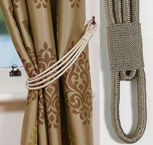 Kestrel Lucy Curtain Tieband Embrace, Sage