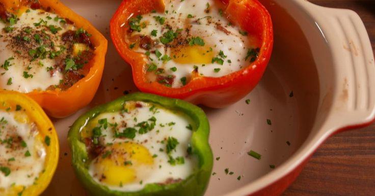 Tover deze heerlijke en poepsimpele paprika's op tafel voor je brunch, lunch, of eender wanneer!