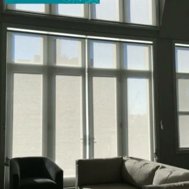 17 best images about hunter douglas roller shades on for Shades for large windows