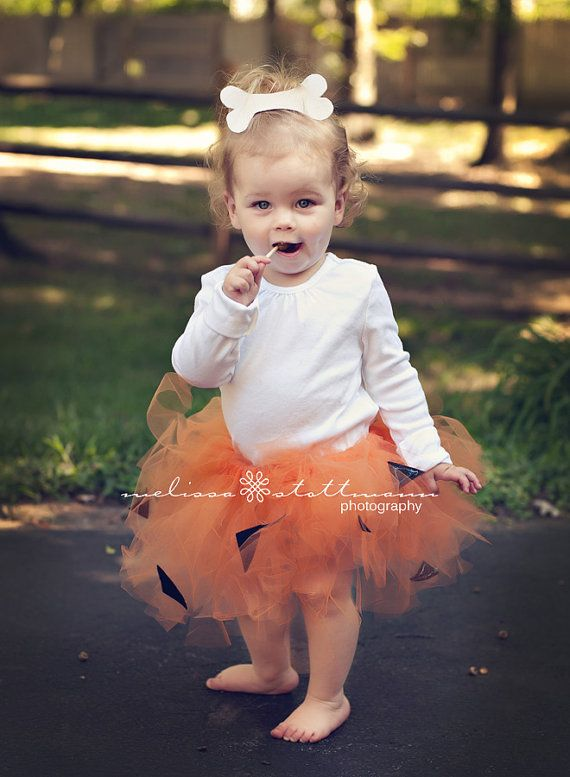 Pebbles Flintstone Tutu Halloween Costume by happycakescreations, $38.00