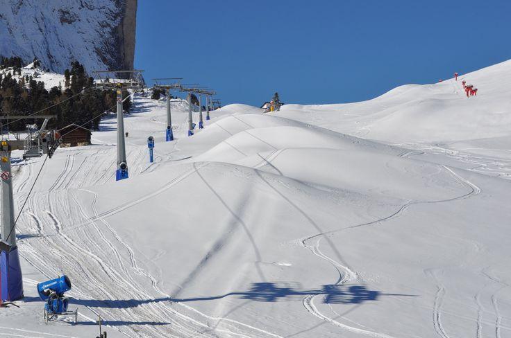 Un vero incanto - la nevicata di questo fine settimana - cari amici della Val Gardena iniziate a preparare gli sci  www.valgardena.it