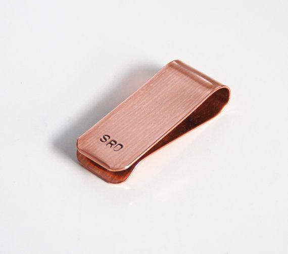 Men's Copper Money Clip Custom Money Clip by FerozasjewelryForMen, $28.00