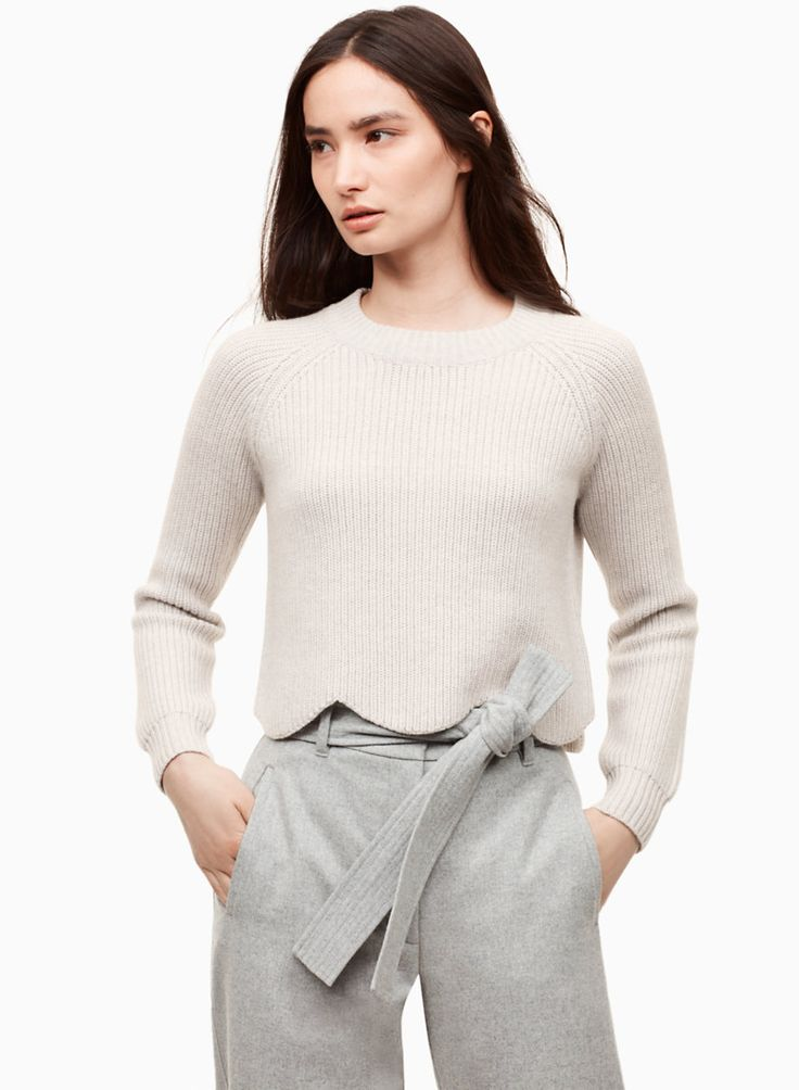 <p>A scalloped hemline makes everything better</p>