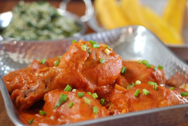 Congo- Poulet Moambe (Moambe Chicken)