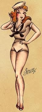 Marinheira de Sailor Jerry