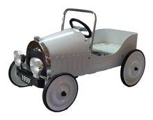 Pedal Bil m/gummi hjul