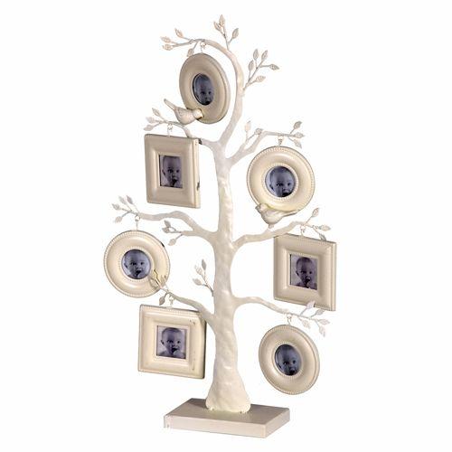 Cream Family Photo Tree