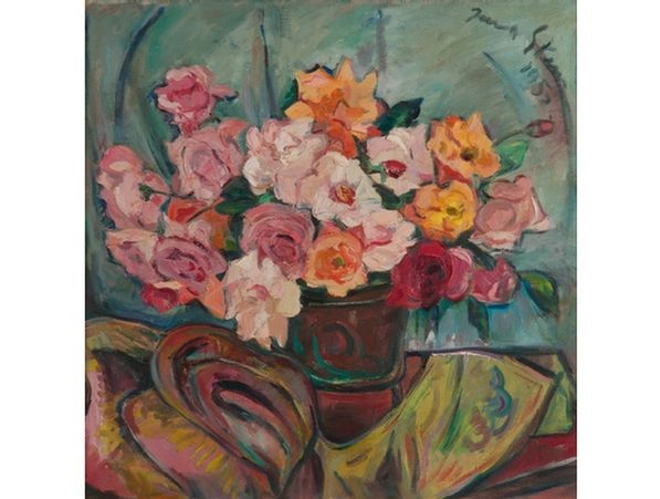Irma Stern 'A Still Life with Roses'