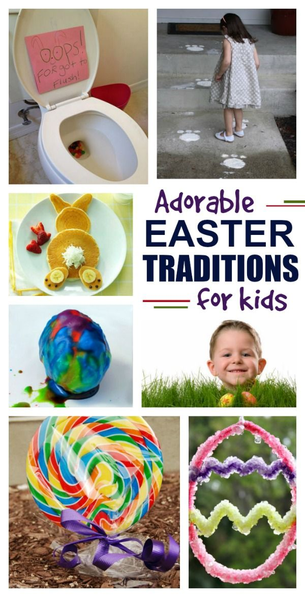 Simple & fun Easter traditions kids love.  I can't wait to start some of these with my family this year!