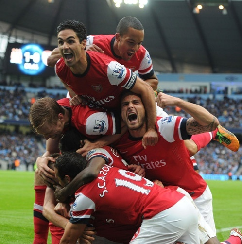 Arsenal's 2012 Best Pictures Part 1