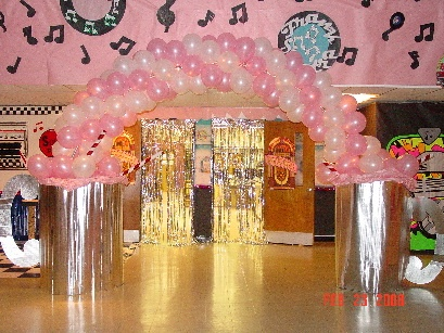 Thinking Of Doing A 50s Theme Party For My Moms 70th Birthday Love Pink Black 50sparty Sockhop Partycheap