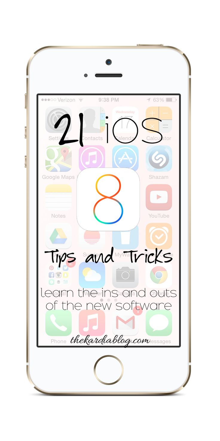 iphone 6 tips and tricks 21 brilliant ios 8 tips tricks and features the kardia 1867