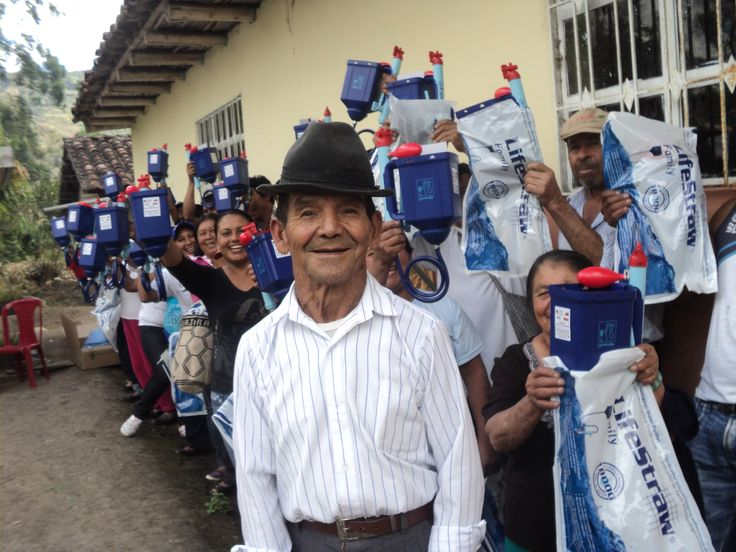 LifeStraw Family 1.0 providing safe drinking water to families in Mexico.