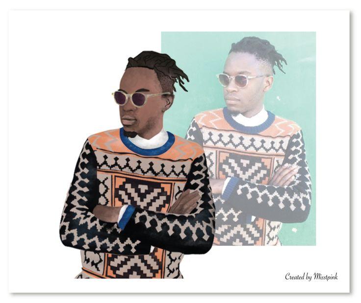 Maxhosa by @laduma fashion designer. Visit www.maxhosa.co.za for more #fashion #tribal #geometric #pattern #orange #black #instafashion #style