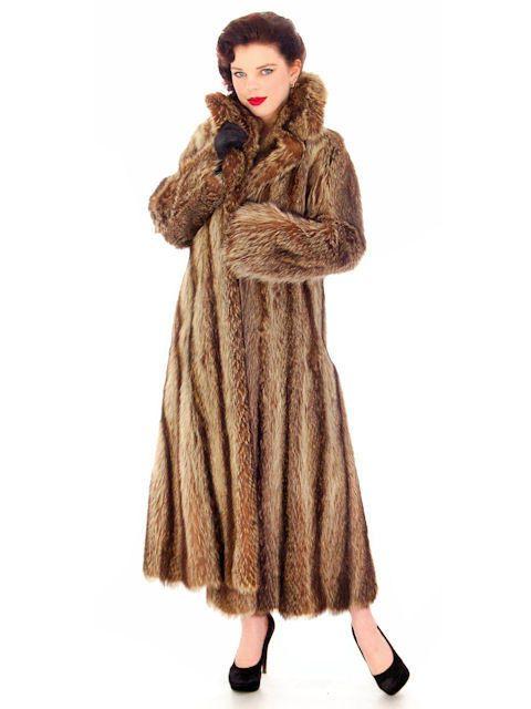 Sale Luxury Vintage Christian Dior Fur Coat / by BestVintageEver