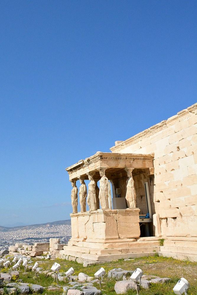 Visit the Acropolis and more when in Athens, Greece! I took this photo while on the Mythological Tour of Athens with Alternative Athens.