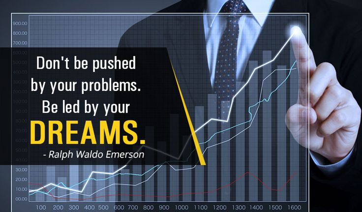 Don't be pushed by your problems. Be led by your #dreams. -Ralph Waldo Emerson http://www.networkmarketingpaysmebig.com/