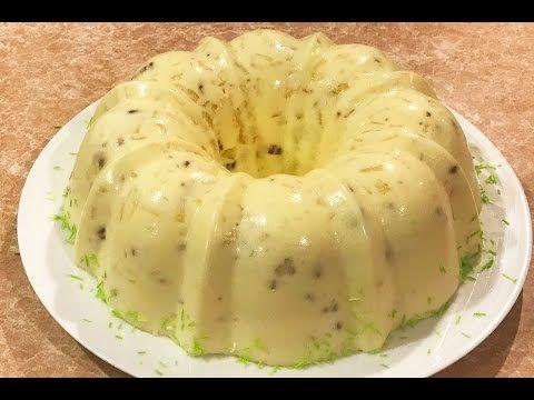 RECETA DE GELATINA DE YOGURT ( sabor gourmet) economica - YouTube