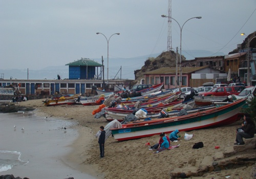 horcon- one of my favorite places to visit when in Chile for awesome seafood!