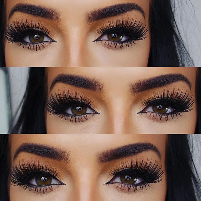 Beautiful eye makeup and lashes Eyebrows are in point      Madison Lassig   