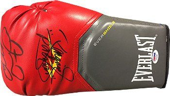 Floyd Mayweather signed Red Left Everlast Evershield Boxing Fight Glove w Manny Pacquiao PSA Hologram >>> You can get additional details at the image link. (Note:Amazon affiliate link)