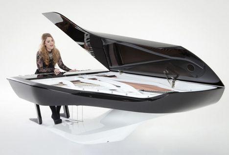 Pleyel Piano - Peugeot Design Lab + Pleyel