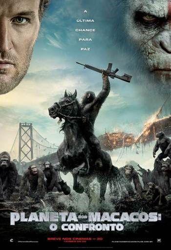 Assistir online Filme Planeta dos Macacos: O Confronto - Dublado - Online | Galera Filmes