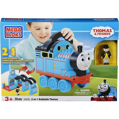 Mega Bloks: Thomas & Friends - Build Your Own 2-in-1 Buildable Thomas - Walmart.com