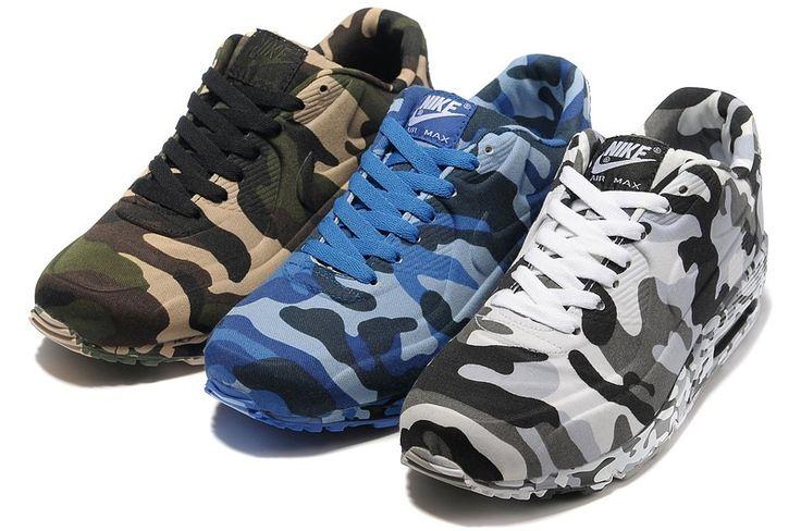 Nike Air Max 90 Hyperfuse Camufladas  Importado