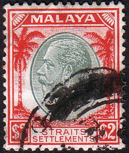Straits Settlements 1936 SG 273 King George V Head Fine Used Fine Used SG 273 Scott 233 Other British Commonwealth Colonial and Empire stamps here