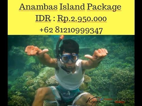how to get to anambas islands from singapore, Contact 081210999347