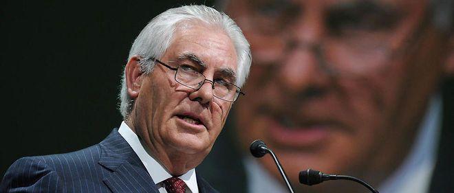 .Trump : le patron d'ExxonMobil futur secrétaire d'État ? Selon les dernières rumeurs, c'est bien Rex Tillerson, le patron du géant pétrolier, qui tiendrait la corde pour prendre la tête de la diplomatie américaine. SOURCE AFP Publié le 13/12/2016 à 08:38 | Le Point.fr