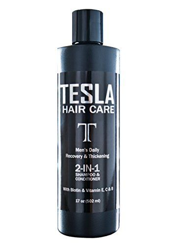 Tesla Hair Care Biotin HairLoss Prevention Mens 2in1 ...
