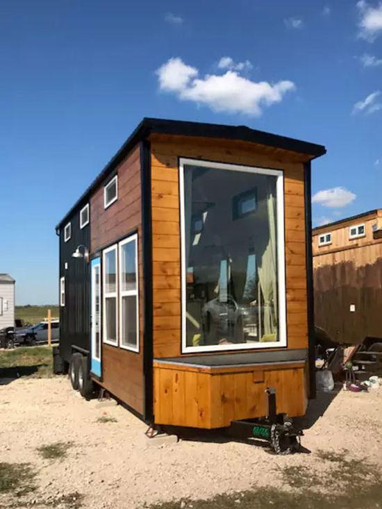 Texas Style By Incredible Tiny Homes House ExteriorHouse ExteriorsModern