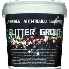 White Glitter Grout (ready mixed)