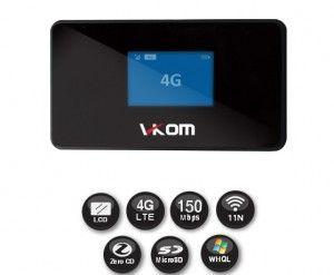 Router LTE Hospot VKOM 403NR Najlepszych wyborem dla osób podróżujących, umożliwia udostępnianie sieci do 10 innych urządzeń Wi-Fi.