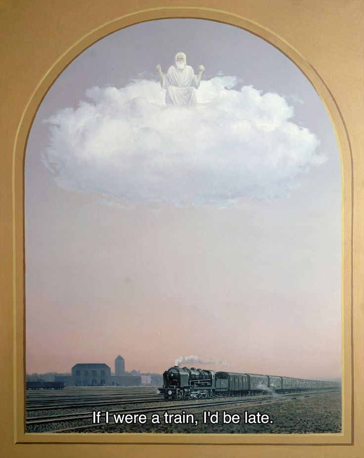 Magritte 52 // Pink Floyd, If (II)