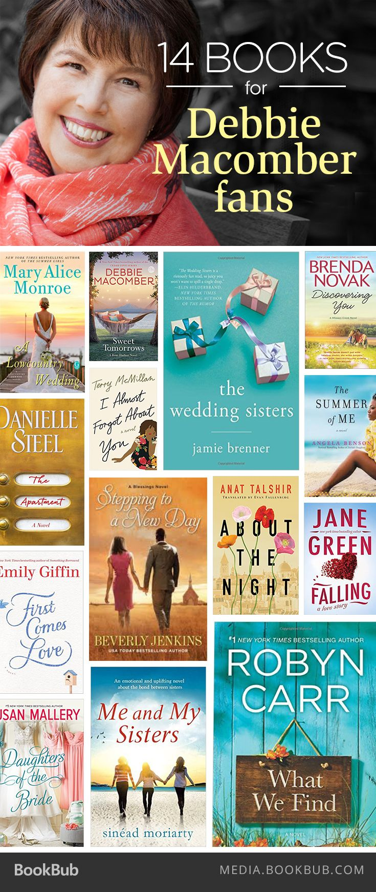 Fans of Debbie Macomber will love these 14 must-read books.