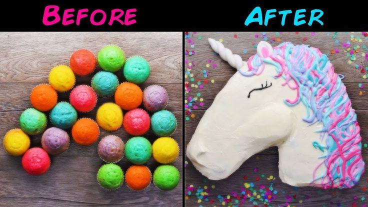 10 Amazing and Easy DIY Homemade Unicorn Themed Dessert recipes