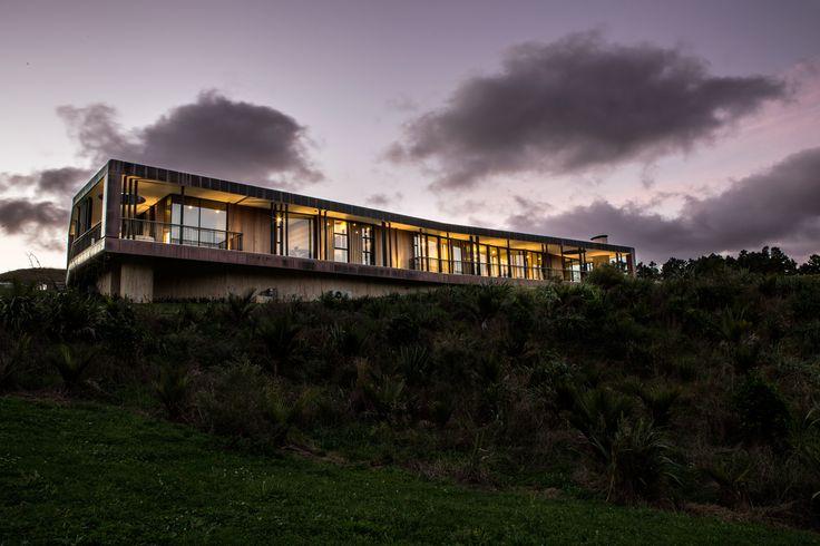 Lake House designed by David Maurice of LTD Architectural Design Studio #ADNZ #architecture