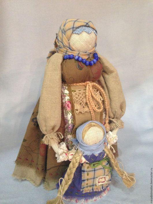 Народная русская кукла Ведучка, оберег на материнство, русские традиции, кукла в подарок, традиционная русская кукла, обережные куклы, подарок женщине,синий, бордовый, фисташковый.